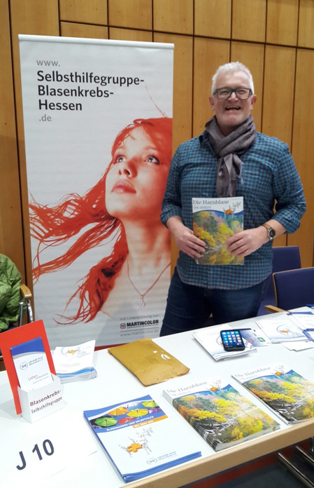 Jürgen 2018 Blasenkrebs Selbsthilfegruppe in Bad Vilbel