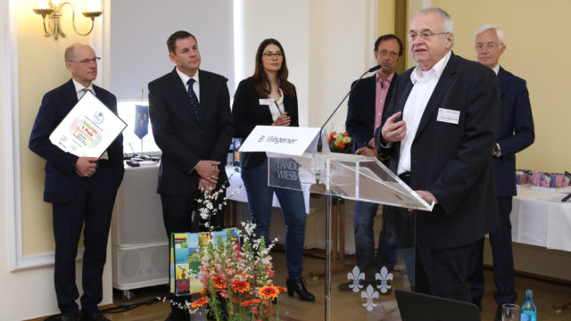Dankesrede Franz Hagenmaier 1. Preis an den Selbsthilfe-Bund Blasenkrebs