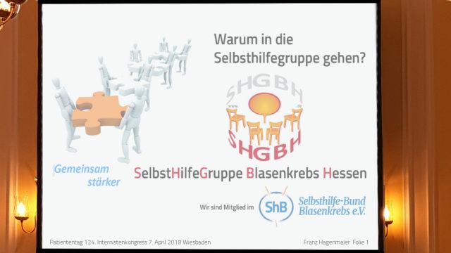 Vortrag Franz Hagenmaier ShB Hessen