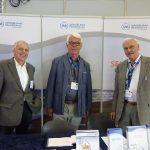 Herr Schuhmacher, Herr Schröder und Herr Marenbach vom ShB - NRWGU Kongress in Essen (Foto: Alfred Marenbach)