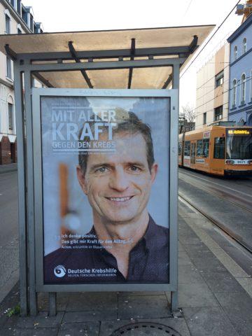 Plakat von Achim in der Thomas-Mann-Straße