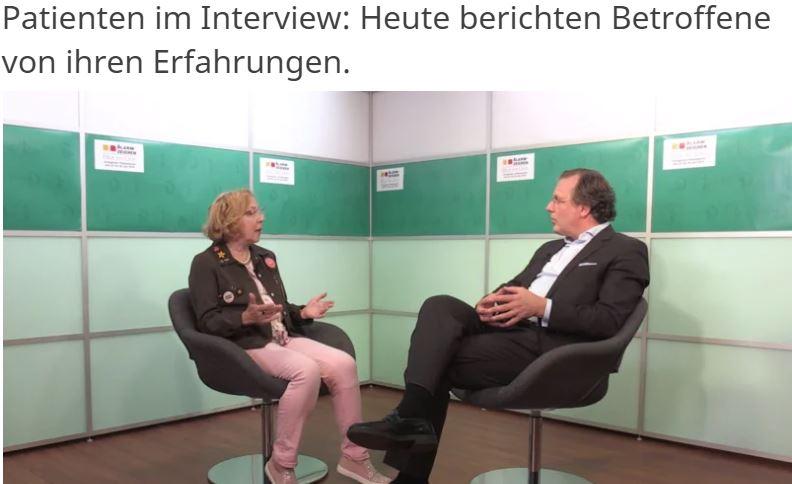 Frau Lemke und Prof. Dr. Wülfing im Gespräch