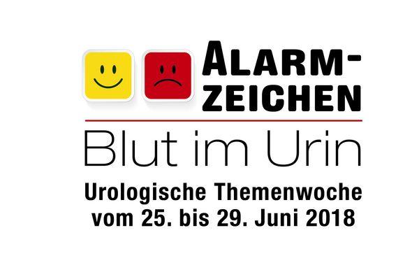 """Urologische Themenwoche """"Blut im Urin"""""""